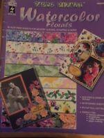 Watercolor Florals Paper book - Hot off the Press