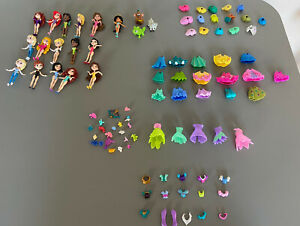 16 Disney Princess Little Kingdom Mini 3' Dolls Bundle Accessories Merida Elsa