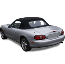 Mazda Miata Convertible Soft Top Replacement & Heated Window 1990-2005 in Black