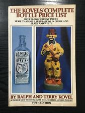 Kovel's Complete Bottle Price List 5th Edition 1979