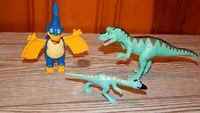 "Learning Curve Dinosaur Train Ollie Ornithomimus Toy Figure Lot  4"" Rare"