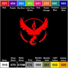 TEAM VALOR Symbol Car Window Laptop Vinyl Decal Sticker Pokémon Pokemon Go