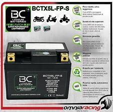 BC LifePO4 BCTX5L-FP-S Batteria Moto Litio Ferro Fosfato 12V Suzuki Vespa Yamaha