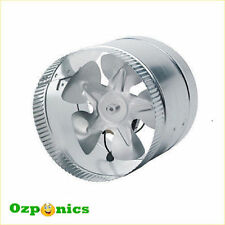 "6"" Fan Hydroponic Environmental Controls Metal/Steel"