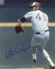 STEVE ROGERS MONTREAL EXPOS ACE ACTION SIGNED AUTOGRAPHED  8X10  PHOTO  W/COA