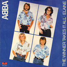 "ABBA ‎– The Winner Takes It All  (1980 VINYL SINGLE 7"" HOLLAND)"