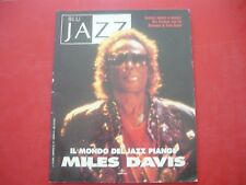 BLU JAZZ-MENSILE 1991-N.17-ANNO III-IL MONDO DEL JAZZ PIANGE MILES DAVIS