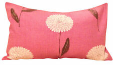"Harlequin Dahlia Rose Tissu Coussin Couverture 20"" X 12"""