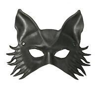 Black Wolf Mask by Maskelle Masks flexible comfy stylish Halloween Adult Costume
