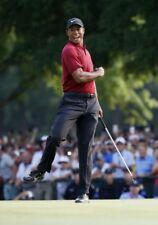 Pro golfista Tiger Woods brillante 2X3 FT CARTEL de impresión fotográfica de Golf R 2018 Tour Champ