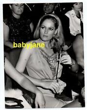 URSULA ANDRESS ORIGINAL 7X9 PHOTO 1970's CANDID TAKEN VAN PARYS PARIS FRANCE