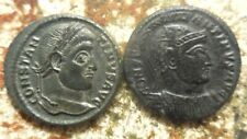 Lot of 2 Constantine The Great Coins, Rated EF By Past Dealer, Both about 20 mm