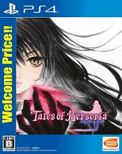 New PS4 Tales of Berseria Welcome Price Japan F/S PlayStation 4 PLJS-36003 EMS