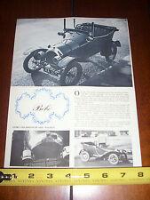 1911 - 1920 PEUGEOT BEBE MINI MICRO CAR  - 1961 ORIGINAL ARTICLE LITERATURE
