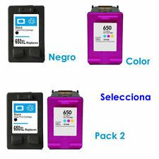 Para HP 650 Deskjet Ink Advantage 1015 1515 2515 2545 2645 3515 3545 4515 4645