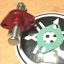 09-17 YAMAHA YFZ450 & 450R-BILLET MANUAL CAM CHAIN TENSIONER anodized USA RED 10