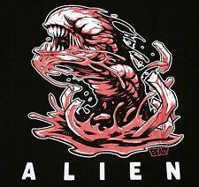 """Chestburster"" Alien Prometheus Xenomorph Men's Large Shirt Teevillain"