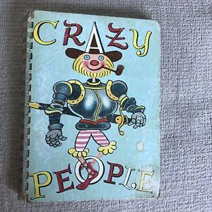 1950*1st* 8192 Crazy People - Walter Trier(Atrium Press) Spiral Bound