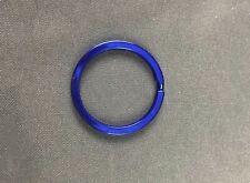 Flat Split Ring Color Blue 1 1/8 Inch Lot of 50 Keyring