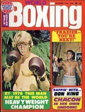 KEITH KELLY/MUHAMMAD ALI World Boxing Magazine November 1975 BOBBY CHACON