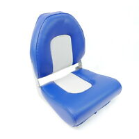 High Back Boat Seat - Blue, For Boats, Yachts, Marine Grade