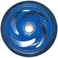 "Rear Suspension 6.38"" Blue Idler Wheel Polaris 1996-2010 Snowmobile Models"