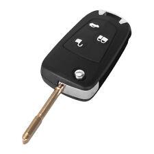 3 Botón Conversión Sin Cortar Remoto Clave Fob Para Ford Focus/Mondeo/Galaxy/Cmax Etc