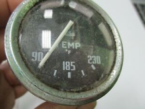 Triumph TR3 engine temperature gauge Yeager TL2561/00 a good rebuildable core