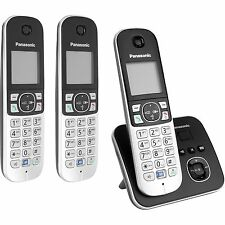 Panasonic KX-TG6823GB, analoges Telefon, schwarz