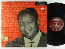 Fats Domino - This Is Fats Domino LP - Imperial 1st Press Mono DG