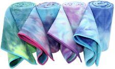 Non Slip Hot Yoga Mat Towel Skidless Waffle Texture 24x72 inch Hot Yoga, Bikram