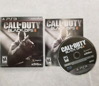 Call Of Duty: Black Ops II 2  PlayStation 3 PS3 FREE FAST SHIPPING