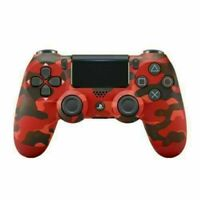 Red SONY PS4 Controller Camo Game Console DualShock Wireless PLAYSTATION Gift US