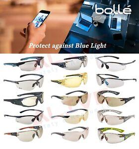 Bolle Blue Light Blocking Glasses Anti-Fatigue / Eyestrain Anti-Glare Eyewear