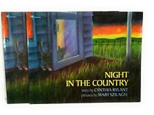 Lot of 2 Night In The Country By Cynthia Rylant Paperback