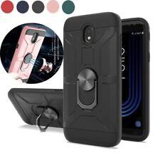 For Samsung Galaxy J7 2018/Aura/Crown/Refine Rugged Ring Holder Stand Phone Case