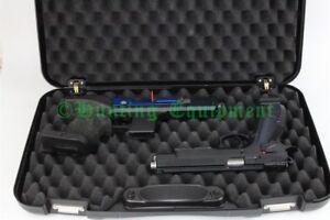 Kurzwaffen-Koffer 50x30cm Pistolenkoffer Revolverkoffer 2 Kurzwaffen NEU