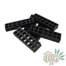 100 Inovatec Gitterklötze 160x50x20mm schwarz Lastabtragung Montage Ausgleich