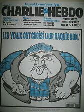 CHARLIE HEBDO 521 MAISONS DE CORRECTION RISS WOLINSKI LUZ JUL SINé GéBé 2002