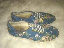 825bde03b659cf Vans Off The Wall Multi Floral Blue Pink Rose Flowers 3.5 Men 5 women kids  2.5