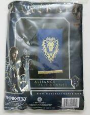 World of Warcraft Movie Alliance Chair Banner WoW Blue Legendary
