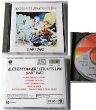 DIRE STRAITS Live Alchemy Part Two .. Original 1984 Silber Red Vertigo CD TOP