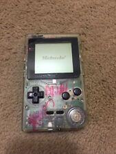 Nintendo GameBoy Pocket Clear Handheld Game Boy System MGB-001