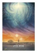 Star Wars Celebration IV 2007 John Alvin, A Bright Center Poster. NEW Original!!