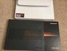 McLaren MP4 12C UK Sales Brochure Prospekt HARD BACK IN SLIP CASE FAST POST