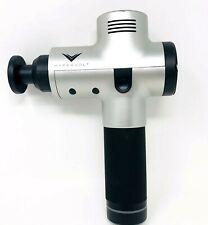Hyperice Hypervolt Vibration Massage Device Portable Silver/Black Version w/Head
