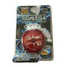 Yomega Brain Red Yo Yo Instructions and Trick book included Brand New Sealed