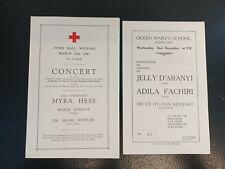 More details for pair of ww2 concert programmes red cross & st john prisoner of war fund