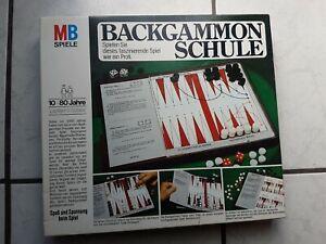 Backgammon Schule - MB Spiel (neuwertig,aber von 1975) top - Nr. 601450500