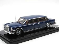 TrueScale TSM Model,1969 Mercedes-Benz 600 Pullman ELVIS PRESLEY, blue,1/43